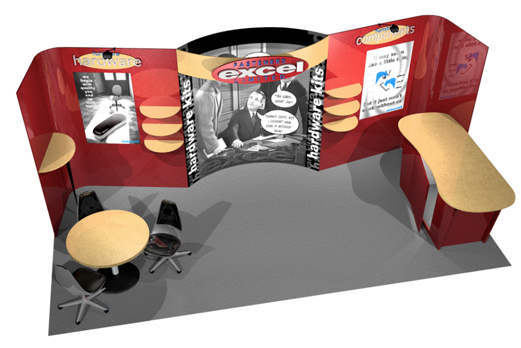 Excel Fasteners 10x20 Booth