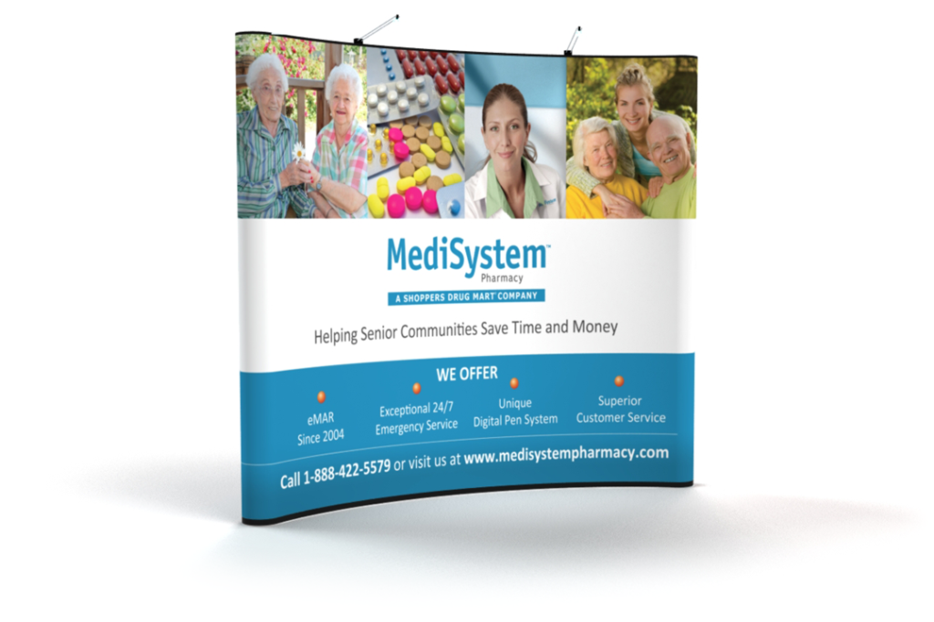 MediSystem 10x10 Booth