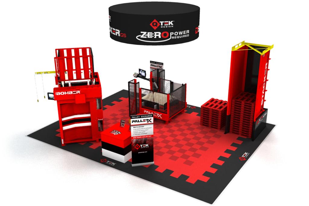 QTEK Design 50x30 Display