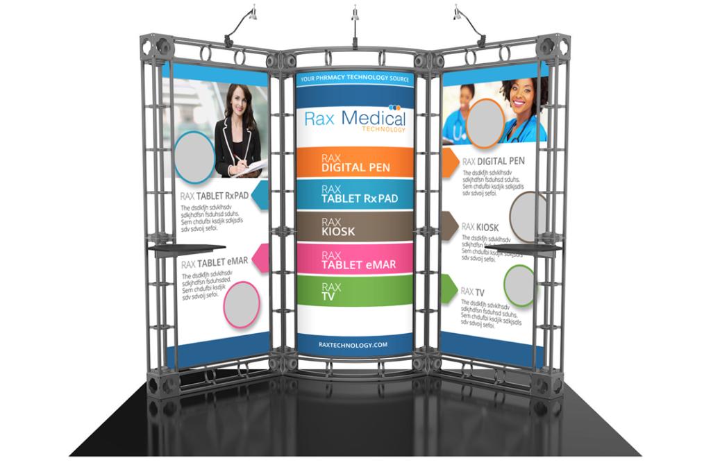 Rax Media 10x10 Booth