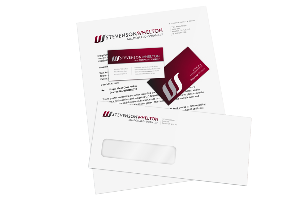 SWMS LLP Stationary