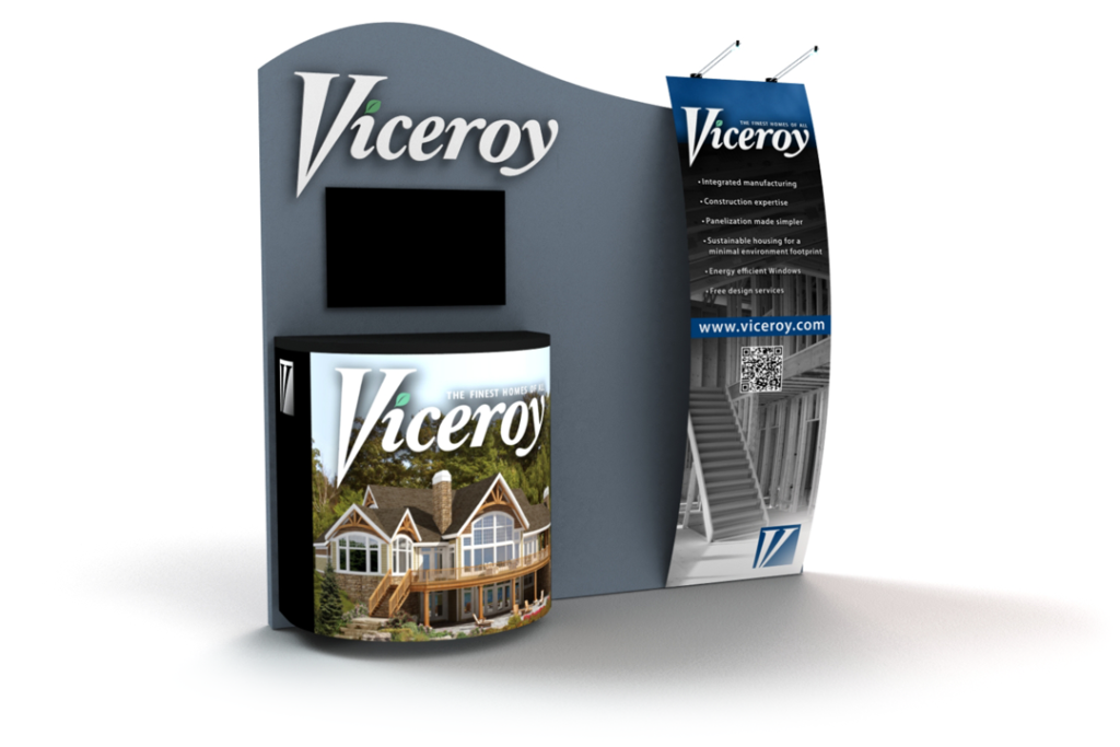 Viceroy 10x10 Booth