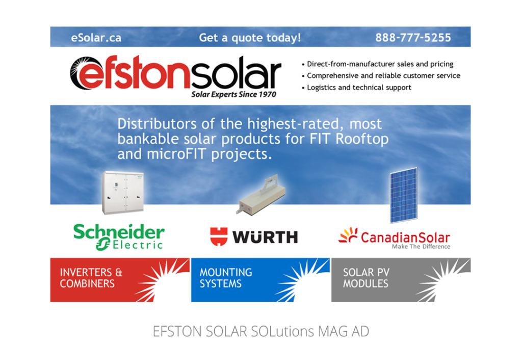 Efston Solar Mag Ad