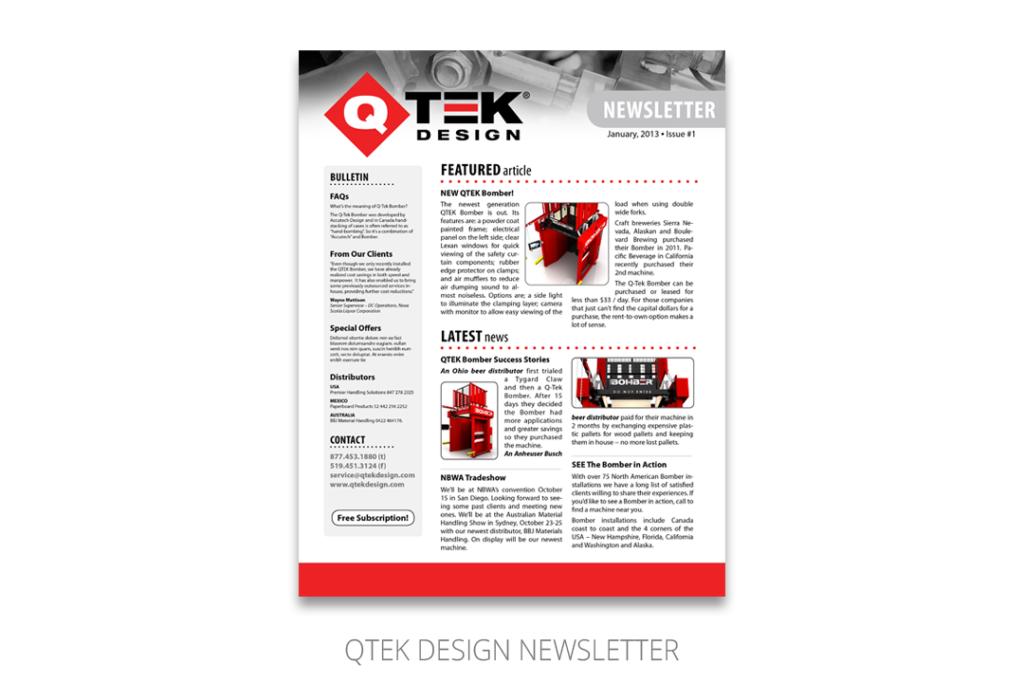 QTEK Newsletter
