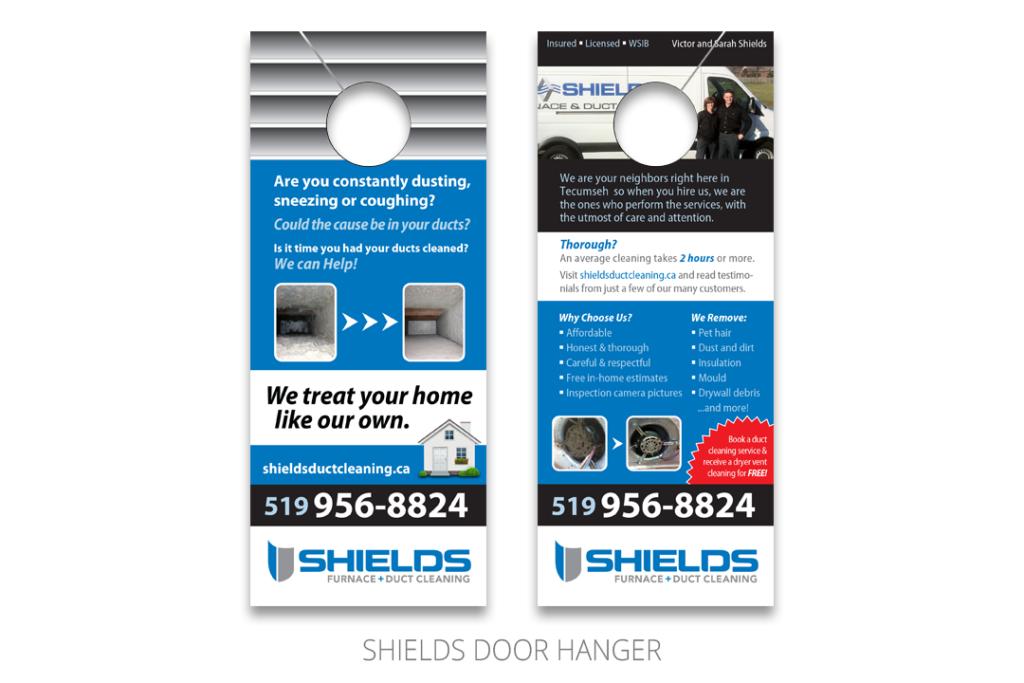 Shields Door Hanger