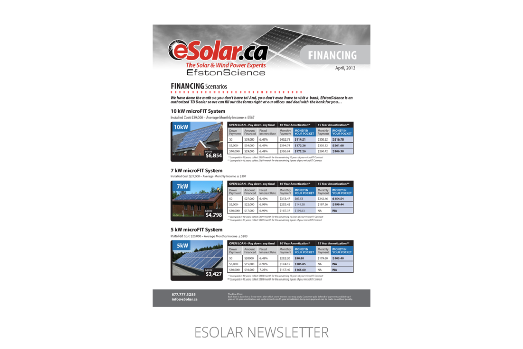 eSolar Newsletter